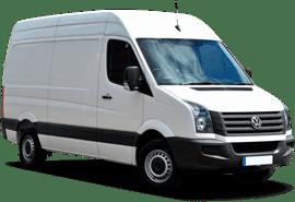 camionnette pour transport de meubles